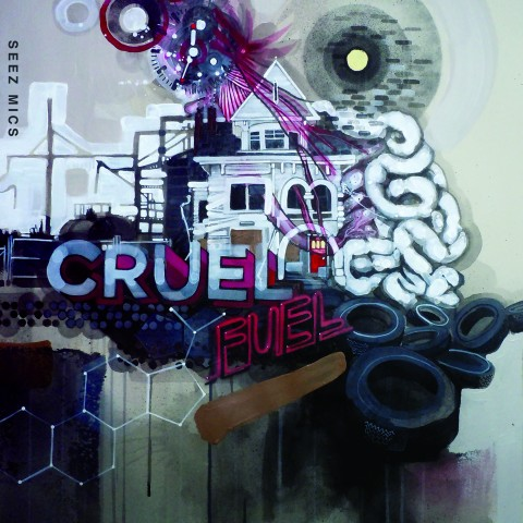 "Seez Mics ""Cruel Fuel"" cover"